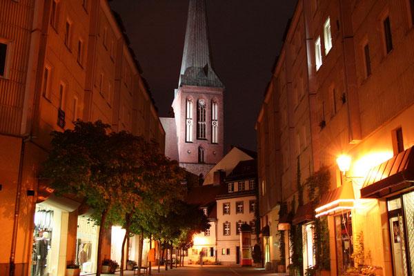 Noc w Nikolaiviertel