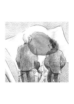 日本農業新聞 連載小説「青い雪」/森久美子 「小さな冒険 六」