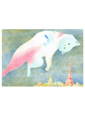 「パリの夜空」