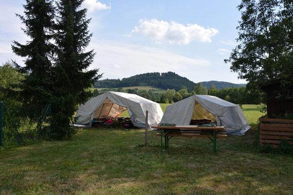 …hier schliefen die Talentino-Camper 2