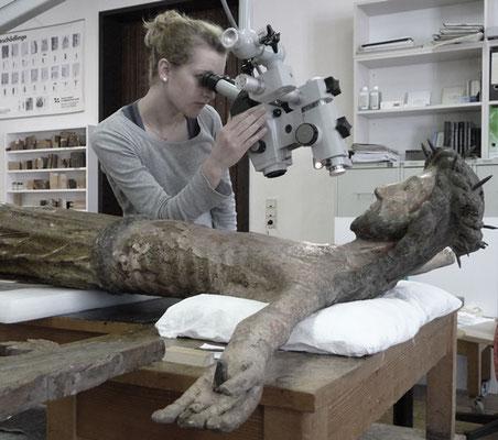 Mikroskopische Untersuchung