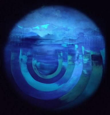 UV-Licht-Aufnahme