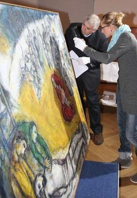 Ausstellungsbetreuung (Photo: Sven Behler)