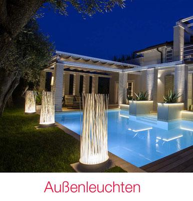 Außenleuchten Garten Terrasse Fassade Pool
