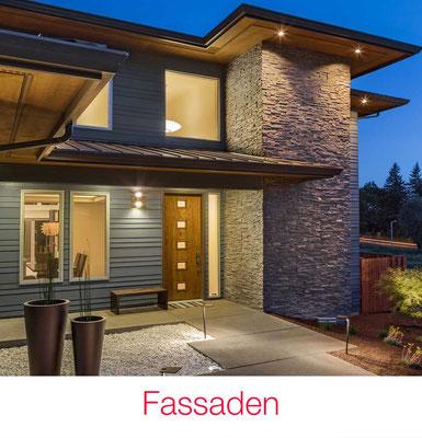 Fassaden Outdoor Hausbeleuchtung