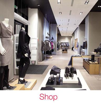 Shop Beleuchtung Geschäft Schaufenster