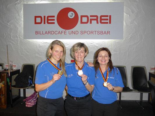 v. l. Miriam Steiner, Klara Lensing, Barbara Jonas