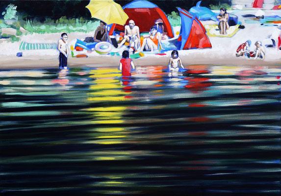 """..."", Öl auf Leinwand, 2014, 80 x 110   (saled)"
