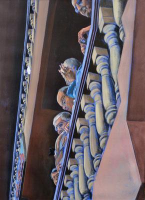 """""""Sightseeing"""", Acryl auf Leinwand, 2012, 160 x 110"""