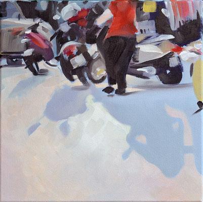 1, 2013, Öl auf LW, 30 x 30 (saled)