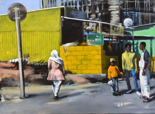 Gelb, 2020, Öl auf LW, 110 x 150