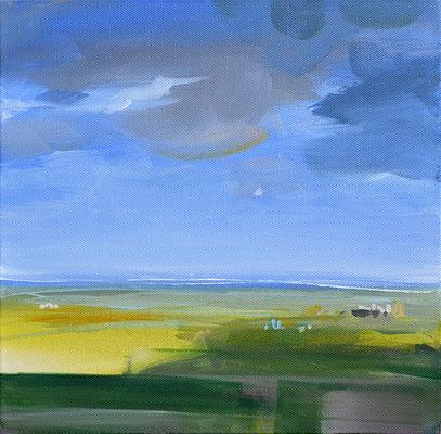 Maifeld, 2013, Acryl auf Leinwand, 30 x 30   (saled)