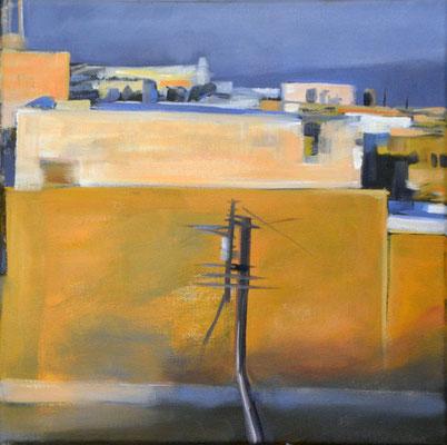 Marokko 8, 2014, Öl auf Leinwand, 30 x 30    (saled)