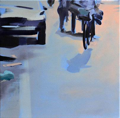 5, 2013, Öl auf LW, 40 x 40   (saled)