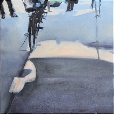 6, 2013, Öl auf LW, 40 x 40   (saled)