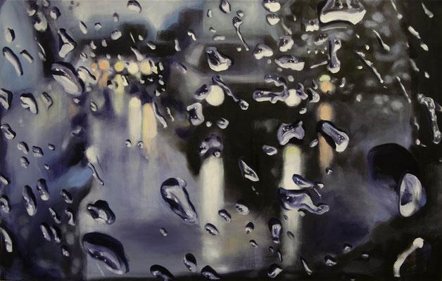 o.T. 2016, Öl auf Leinwand, 70 x 110
