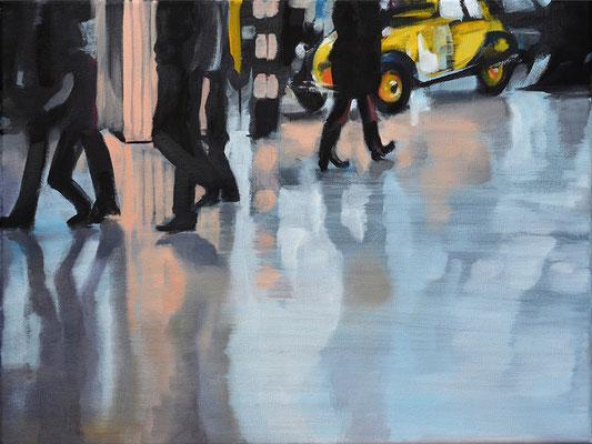 o.T., 2015, Öl auf LW, 30 x 40    (saled)