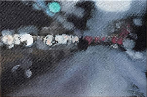 o.T. 2014, Öl auf LW, 30 x 40    (saled)