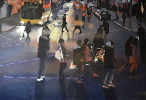 Kreuzung, 2015, Öl auf LW, 110 x 160