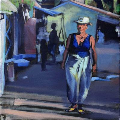 Madagaskar 17, 2017, Öl auf LW, 40 x 40 (saled)