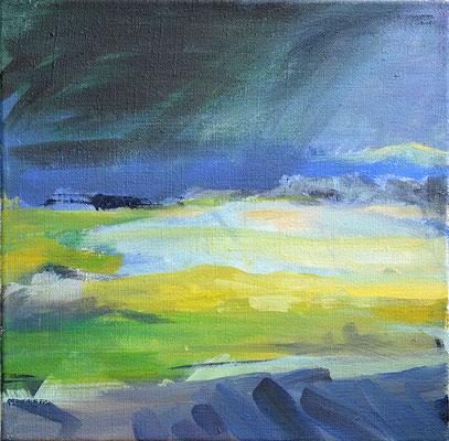 Wetter, 2013, Acryl auf Leinwand, 30 x 30   (saled)