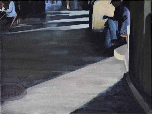 o.T., 2015, Acryl auf LW, 30 x 40    (saled)
