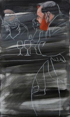 Öl auf Leinwand, 2019, 100 x 60 (saled)