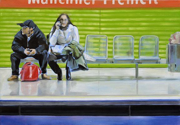"""""""kleine Freiheit"""", Öl auf Leinwand, 2010, 80 x 110   (saled)"""