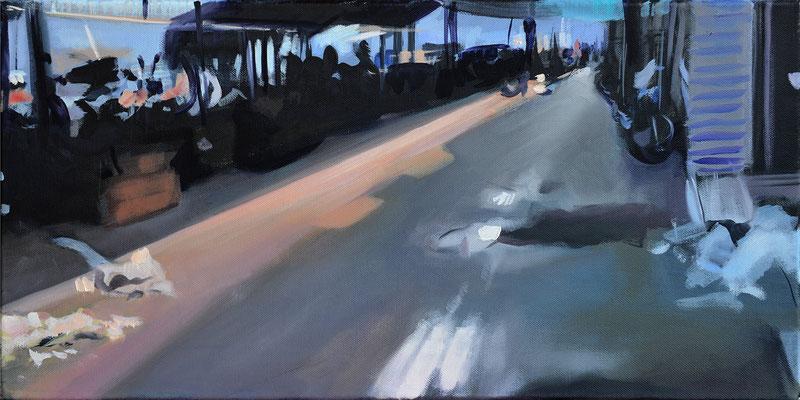 8, 2015, Öl auf LW, 30 x 60   (saled)