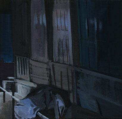 Kleines Licht, Acryl auf LW, 60 x 60