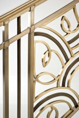 Bronze railing for a private residence - Beverly Hills