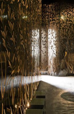 Brass Full Screen - Exposition AD Interior 2013 - Paris