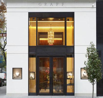 Bronze gate - Graff Diamonds - New York City