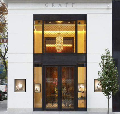 Bronze gate - Graff Diamonds - New York City