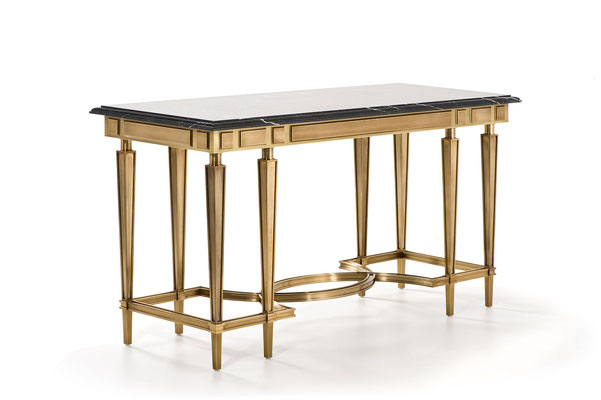 Set of bronze consoles of different sizes for Grand Hotel du Cap-Ferrat - France and for a private residence Connecticut - USA