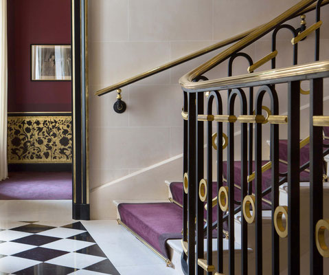 Rampe - Hôtel La Réserve - Paris