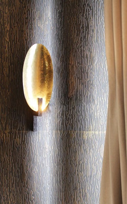 Bronze walls for a private residence - Swiss