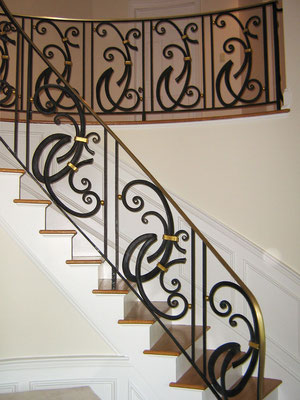 Railing for a private residence - New Jersey