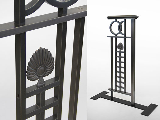 Sample for a bronze railing - Private residence - Hong Kong China