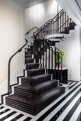 Bronze railing - The Mark Hotel - New York City