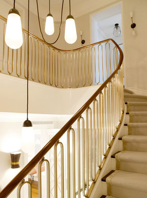 Bronze railing for a private residence - New York City