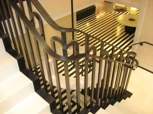 Rampe en bronze - The Mark Hotel - New York City