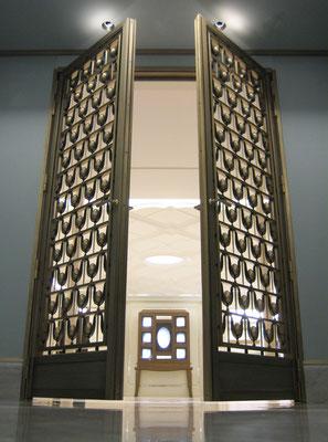 Porte en bronze - Bijouterie Tiffany & Co - New York City