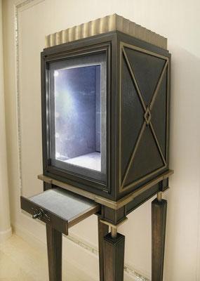 Display cabinet - Tiffany & Co Jewelry Store - New York City
