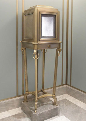 Display cabinet - Tiffany & Co Jewelry Store - New York City