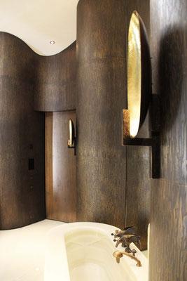 Murs en bronze pour une résidence privée - Suisse