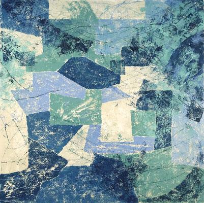Senza titolo 8 - cm. 39x39 - Olio su carta