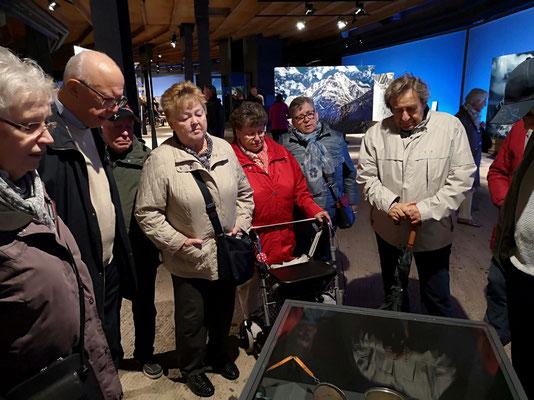 Besuch des Gasometers in Oberhausen 2018
