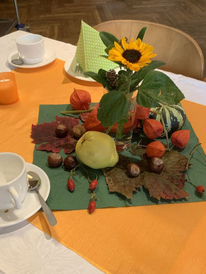 Herbstliche Dekoration