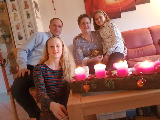 Alle Kerzen brennen